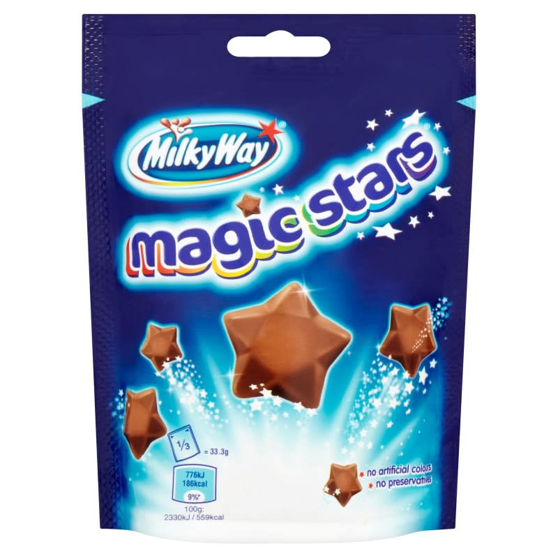 Milky Way Magic Stars Pouch 100g  Groceries  Chocolate  BM