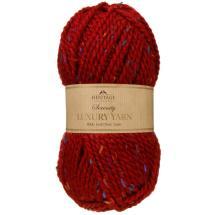 Serenity Chunky Knitting Yarn 100g - Claret &