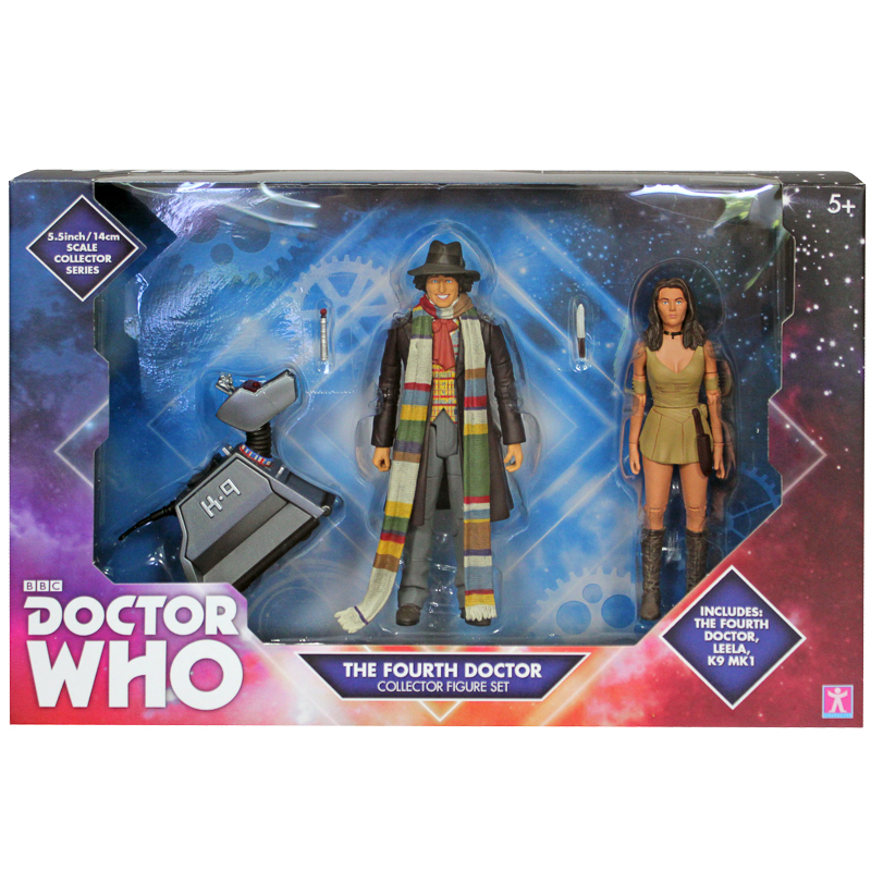 Doctor Who 55 Figures  Fourth Doctor  Collectors Toys