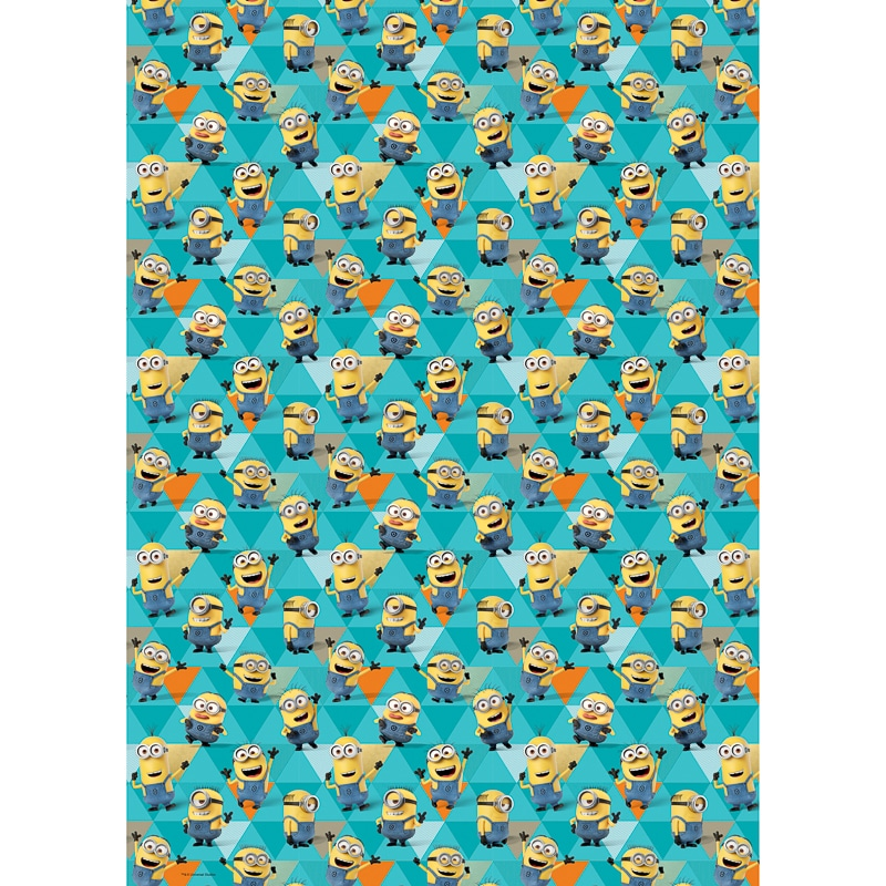 Despicable Me Minions Wrapping Paper 4m Gift Wrap B&M