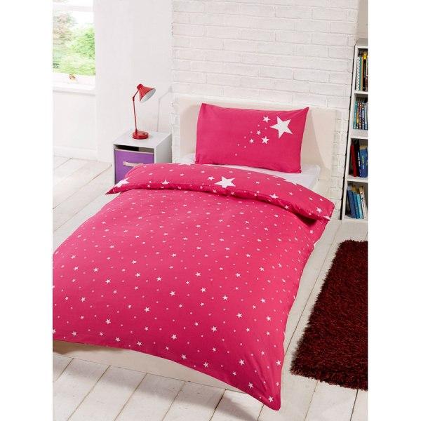 Dark Pink Bed Comforter Sets
