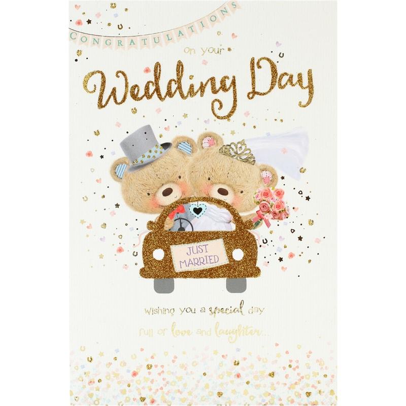 congratulations just married wedding