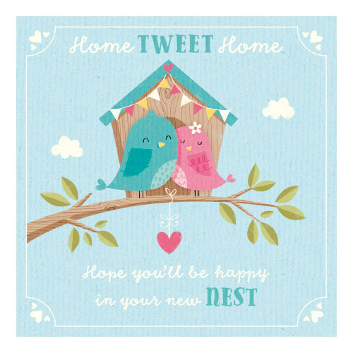 Home Sweet Home  Birds  Greetings Cards  BM Stores