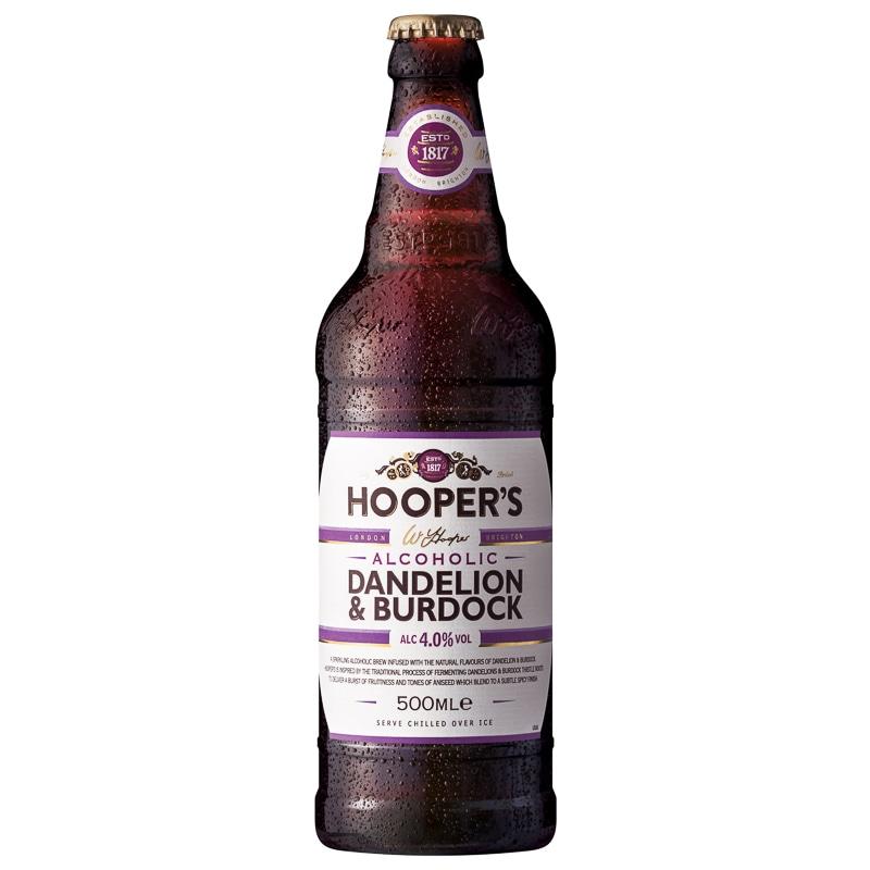 Hoopers Dandelion  Burdock 500ml  Alcohol  BM