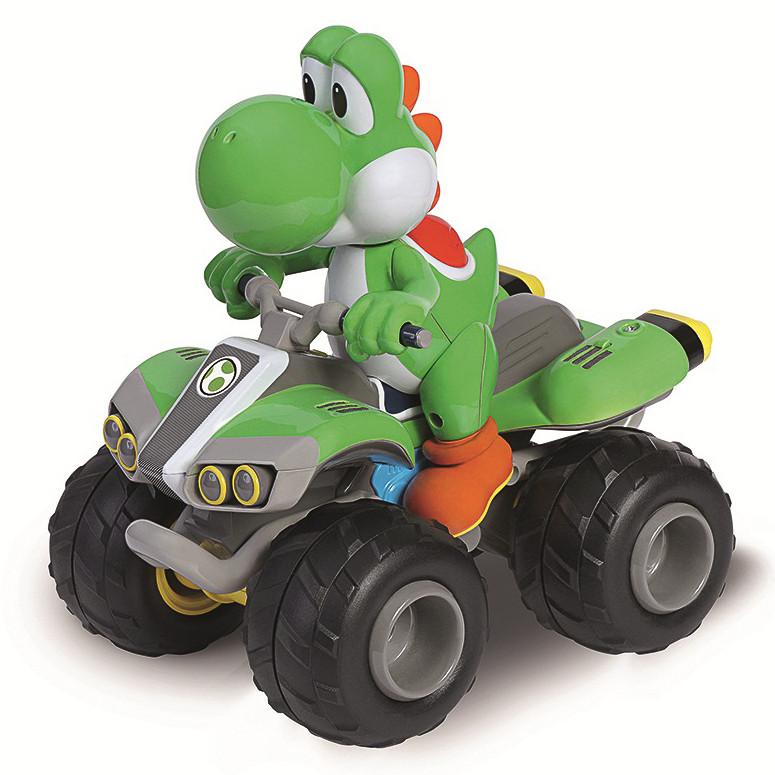 Silver Animal Print Wallpaper Mario Kart Yoshi Rc Car Toys Remote Control Cars