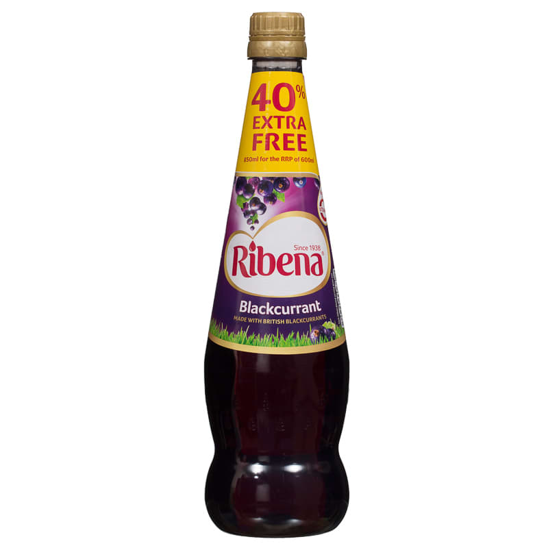 kitchen light bulbs ada compliant sink ribena blackcurrant 850ml | fruit juice, concentrated