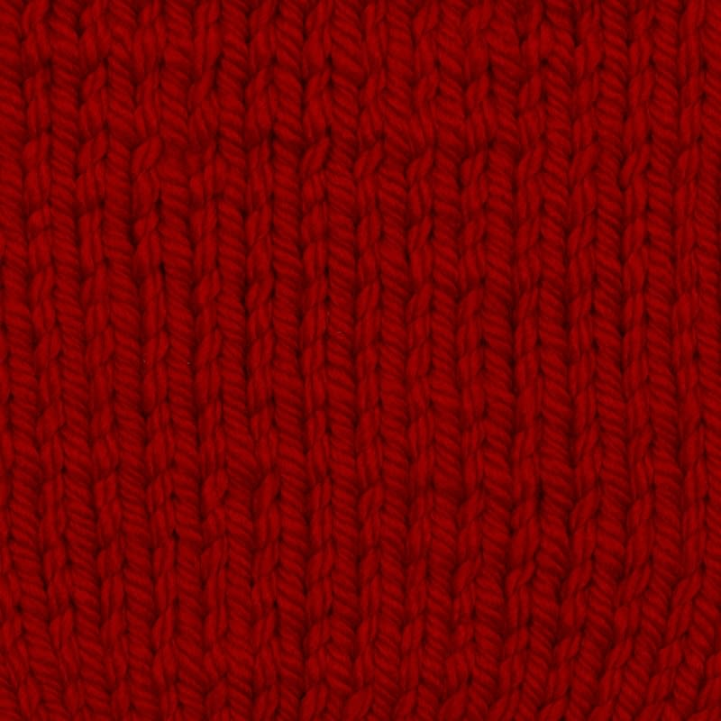 Cable Knit Yarn 150g  Red  Knitting  Crochet