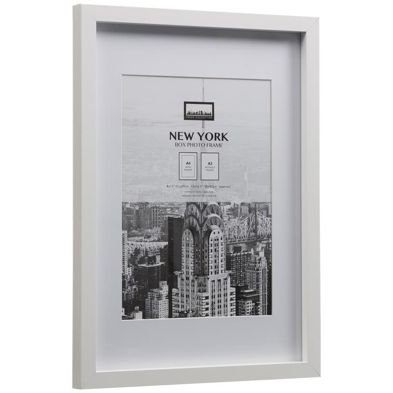 New York Photo Frame A4  Home Decor Photo Frames  BM