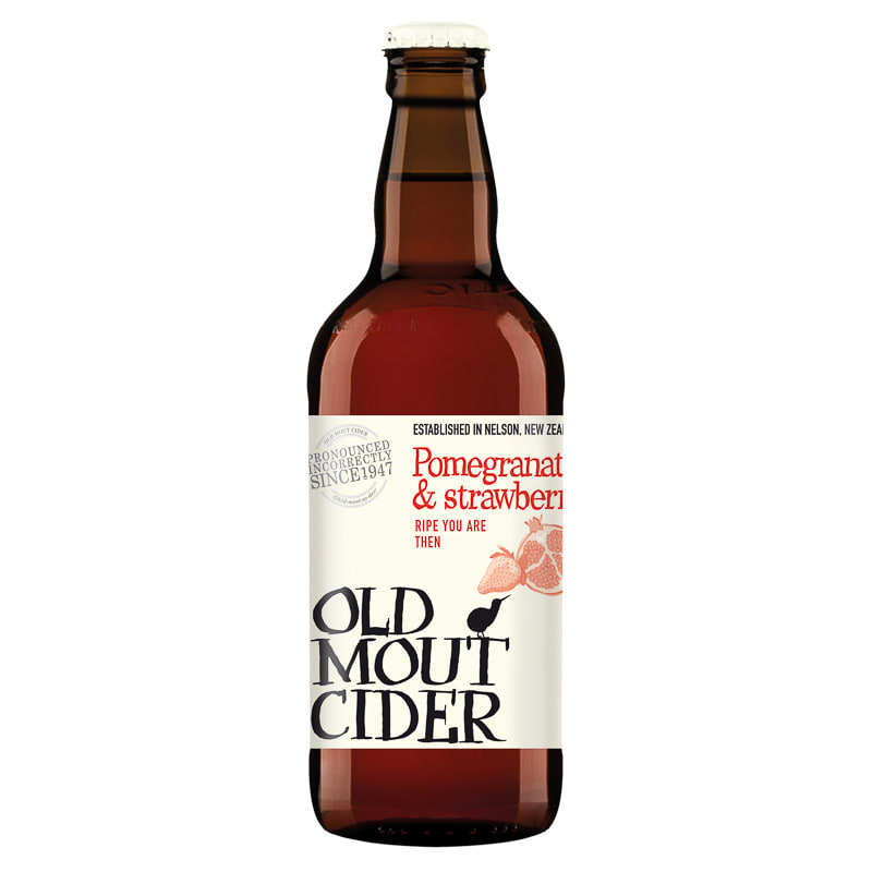 Old Mout Cider  Pomegranate  Strawberry 500ml  Alcohol