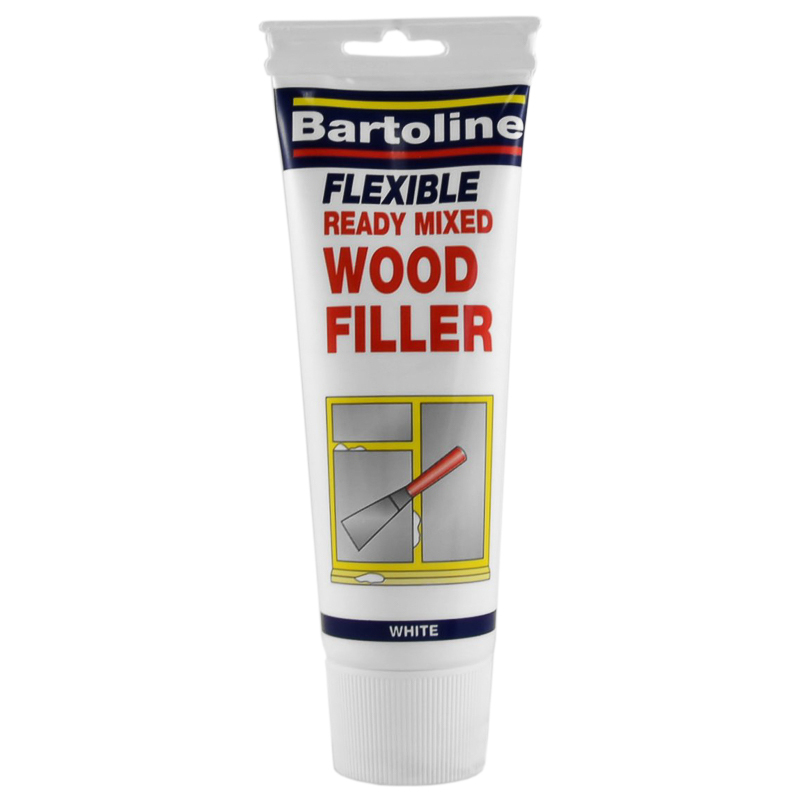 Bartoline Ready Mixed Wood Filler 330g  White