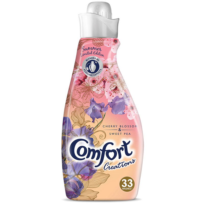 Comfort Creations Cherry Blossom 116L Fabric Conditioner