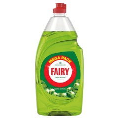 Kitchen Sink Replacement Cabinet Layout Tool Fairy Washing Up Liquid 1.5l - Apple Orchard | Cleaning