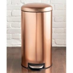 Dash Kitchen Appliances Ashley Furniture Table Copper Pedal Bin 30l | Household Essentials - B&m