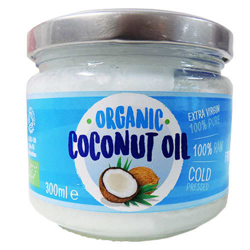 Organic Coconut Oil 300ml Cooking Oil Groceries