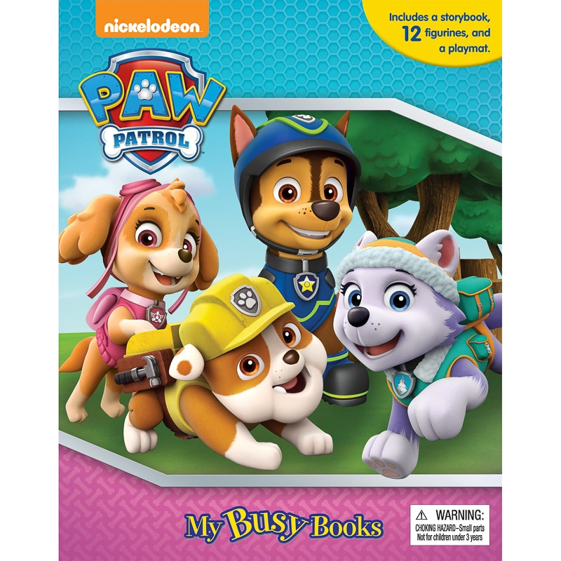 Paw Patrol My Busy Book Kids Books Activity Book BampM