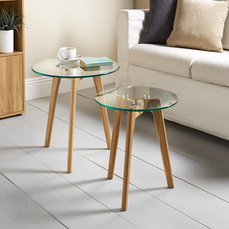 Aiden Table Set 2pc  Furniture  Living Room  BM