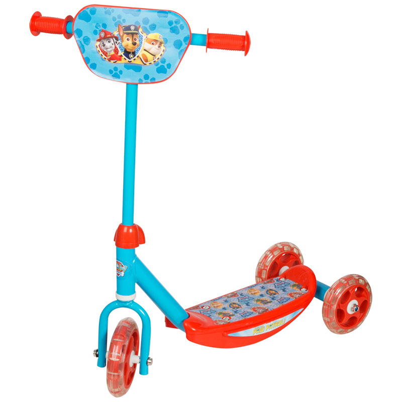 Paw Patrol 3 Wheel Scooter Toys Kids Scooters BampM