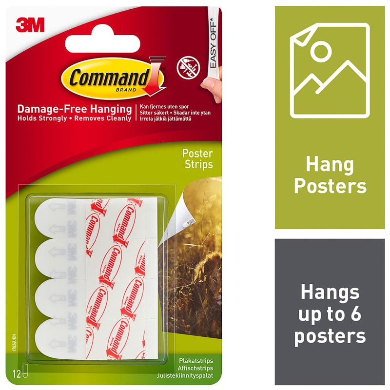 command poster strips small