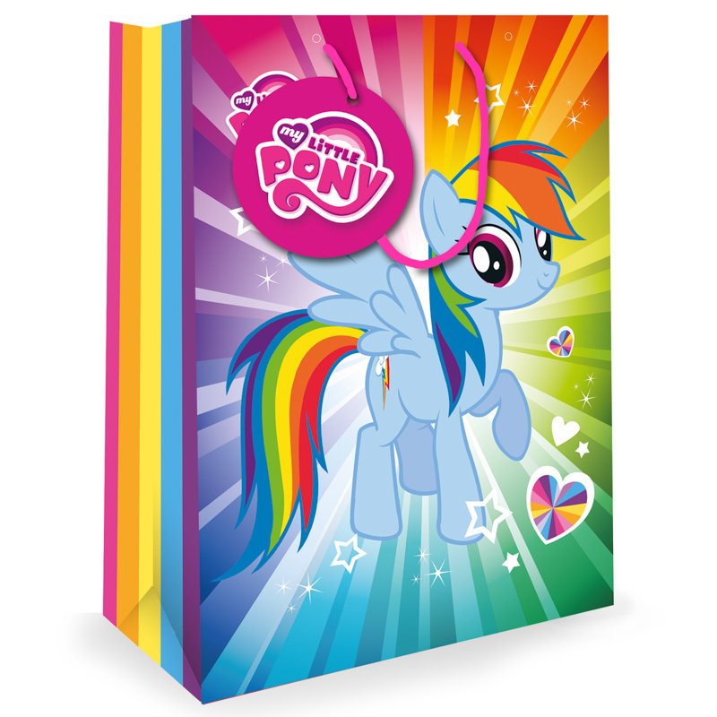 My Little Pony Extra Large Gift Bag Kids Gift Bags B&M