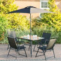Seattle Premium Patio Set 6pc Garden Furniture - & Stores