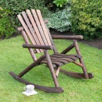 Wooden Rocker Chair | Garden Furniture - B&M