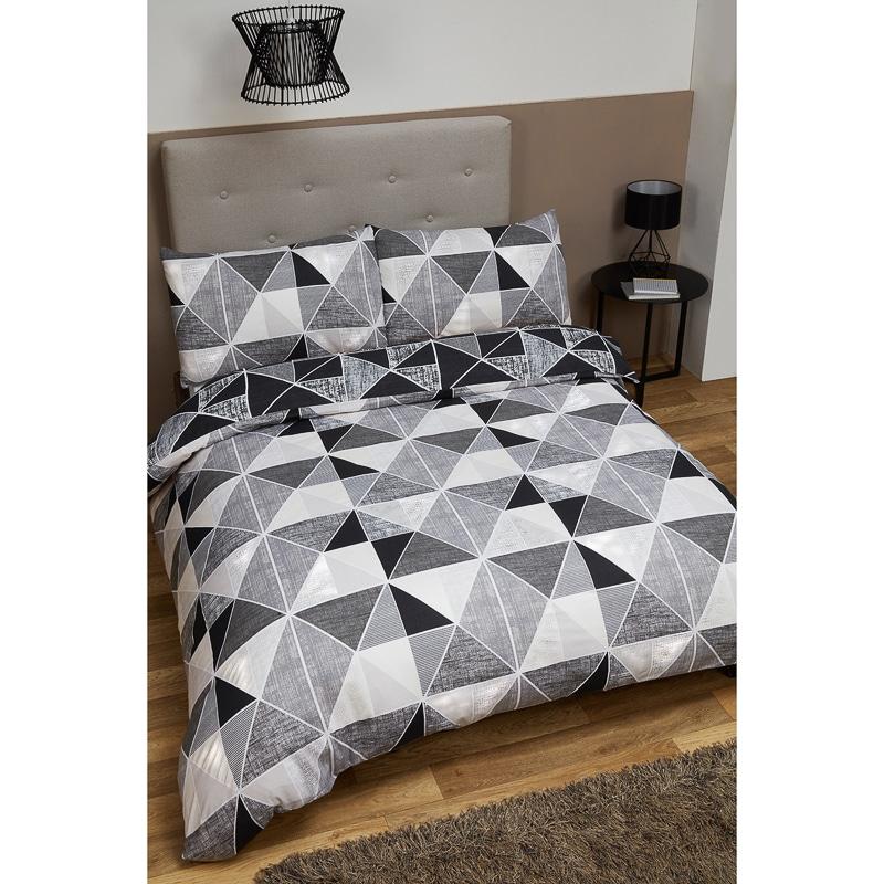 Geometric King Size Duvet Set  Bedding  Duvet Sets  BM