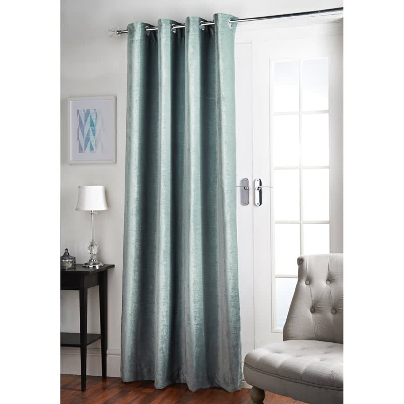 Luxury Chenille Unlined Panel 54 X 86 Curtains BampM