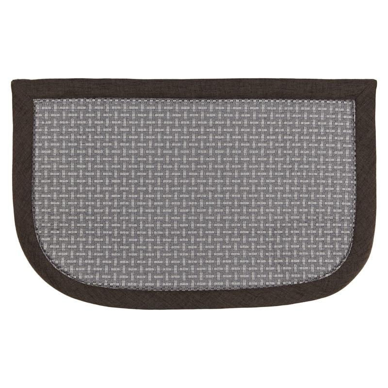 memory foam kitchen mats floor to ceiling pantry beldray mat grey b m 324501 semi circle