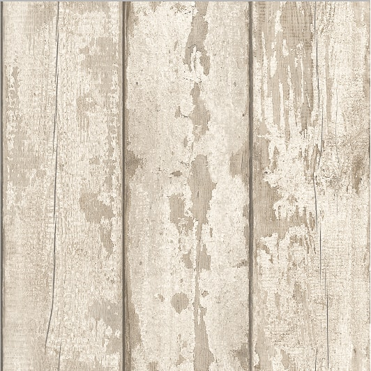 Arthouse White Washed Wood Wallpaper  Decorating DIY  BM