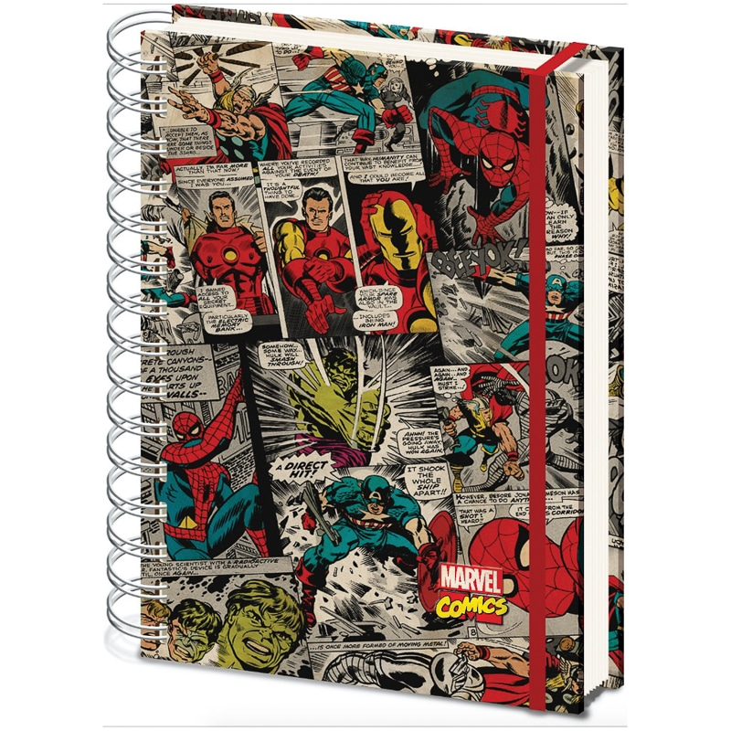 A5 Marvel Notebook Kids Stationery Spider Man B Amp M
