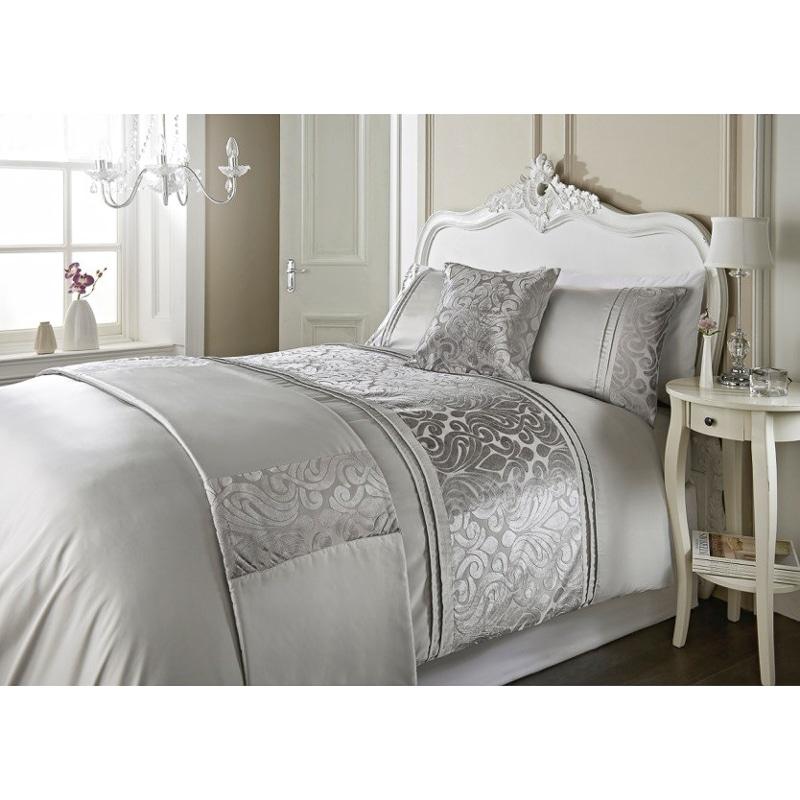 Dallas Damask Velvet Bed in a Bag  King Size  Bedding  BM
