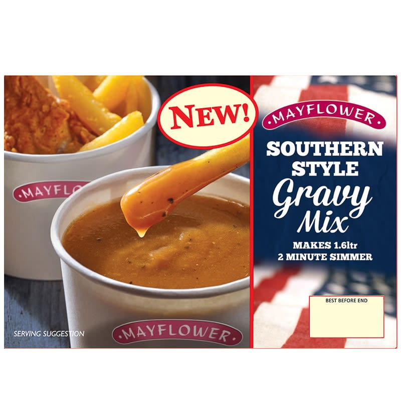 Silver Animal Print Wallpaper Mayflower Southern Style Gravy Mix 255g Gravy B Amp M