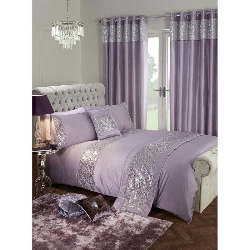 Karina Bailey Luxor Sequin Duvet Set  Double  Duvets  BM