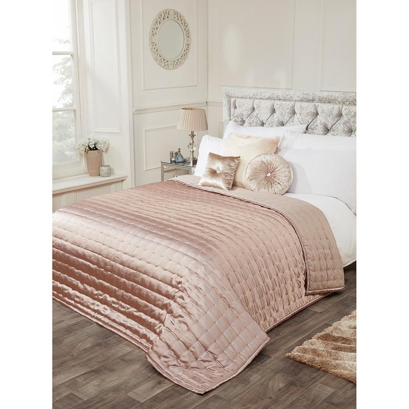 Karina Bailey Matt Satin Bedspread 200 x 200cm  Bedding  BM