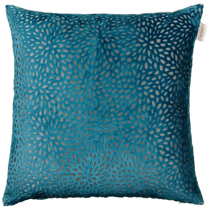 Westminster Velvet Oversized Cushion  Teal  Cushions  BM