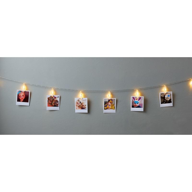 Photo Clip String LED Lights 15pc  Home Lighting  BM