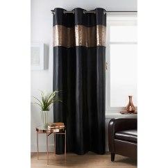 Furniture Stores Living Room Showcases Designs Reversible Sequin Curtain Panel 54 X 86