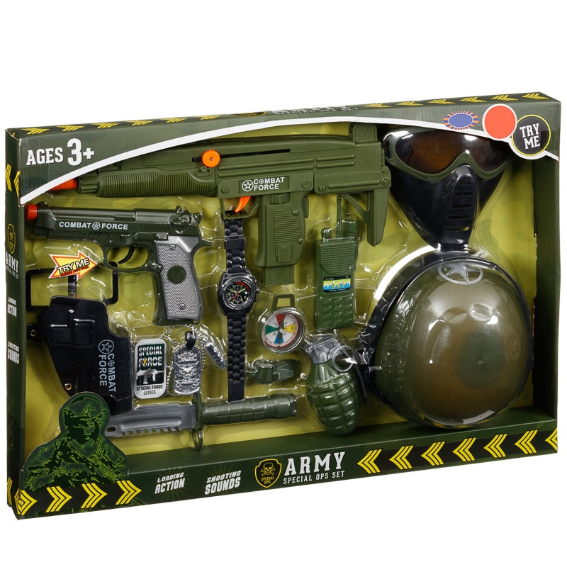 Army Special Ops Set Dress Up Kids B Amp M