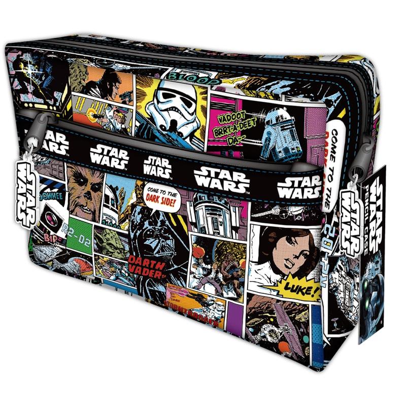 Star Wars Chunky Pencil Case Stationery Kids B Amp M