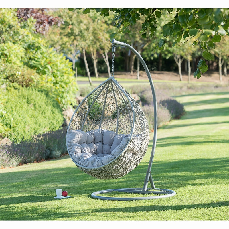 Siena Hanging Egg Chair  Garden Furniture  BM