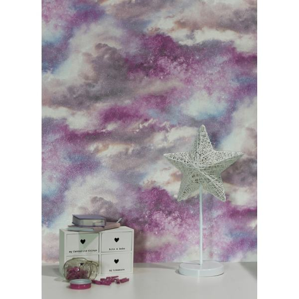 Diamond Galaxy Wallpaper - Blush Diy &