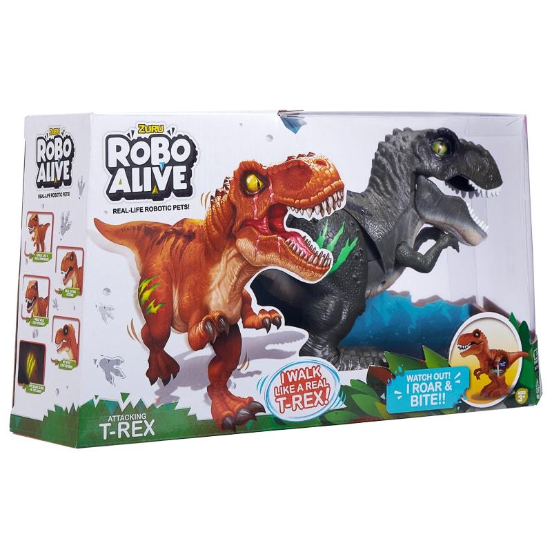 Robo Alive TRex  Grey  Gadgets  Electronic Toys  BM