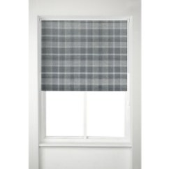 Grey Kitchen Blinds Boys Play Set Cheap At B M Oakland Check Roller Blind 150cm