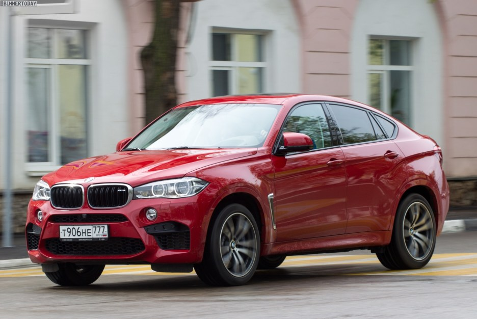 BMW X6 M F86 Melbourne Rot Red 01