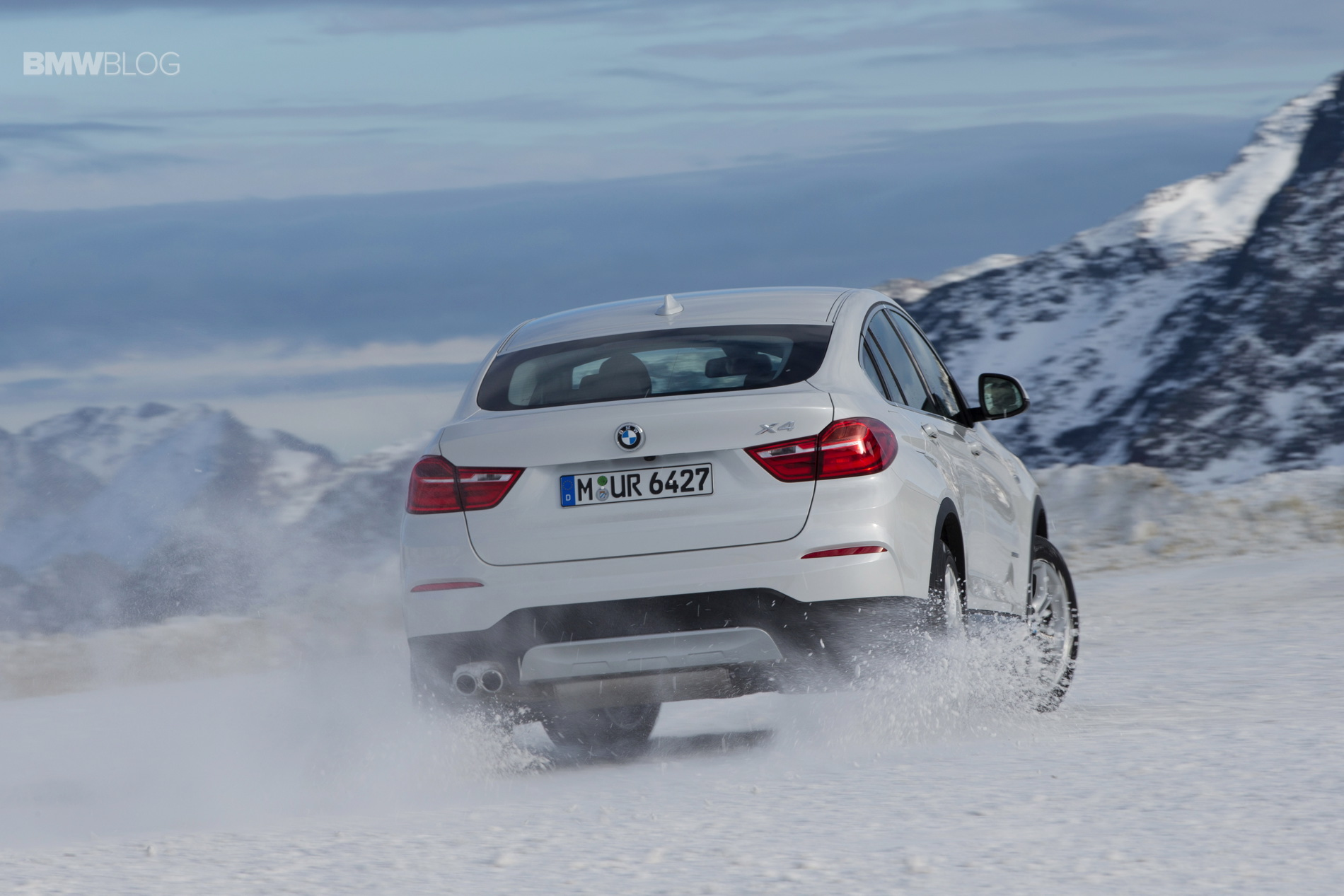 Bmw X Family Plays In The Snow