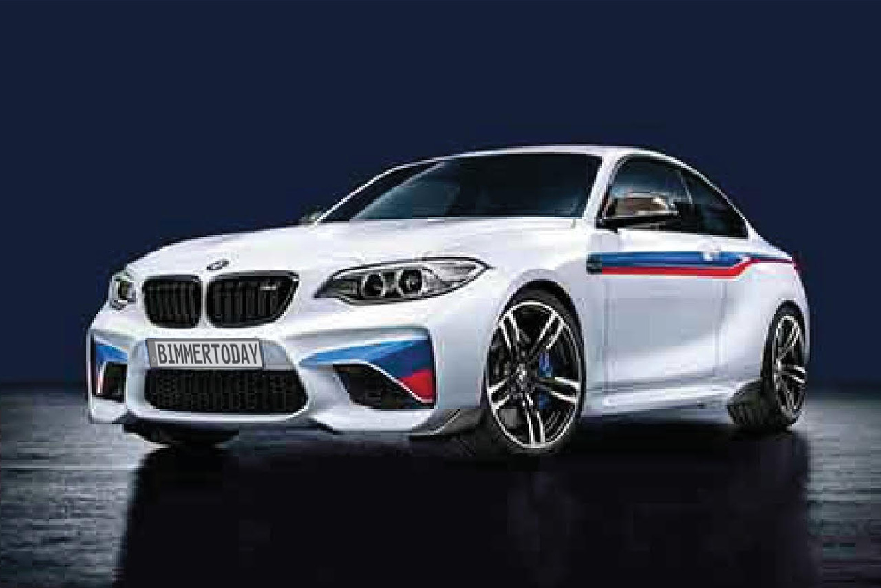 Bmw M2 First Photos For M Performance Tuning Program
