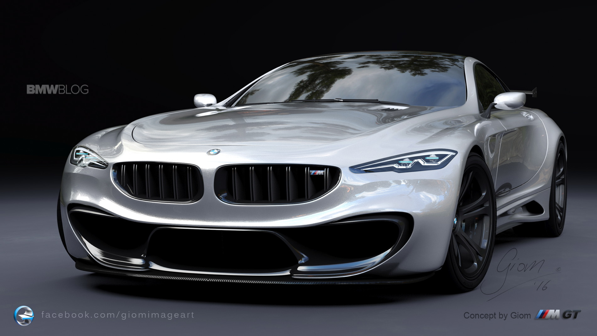 Design Study What A BMW M GT Could Look Like
