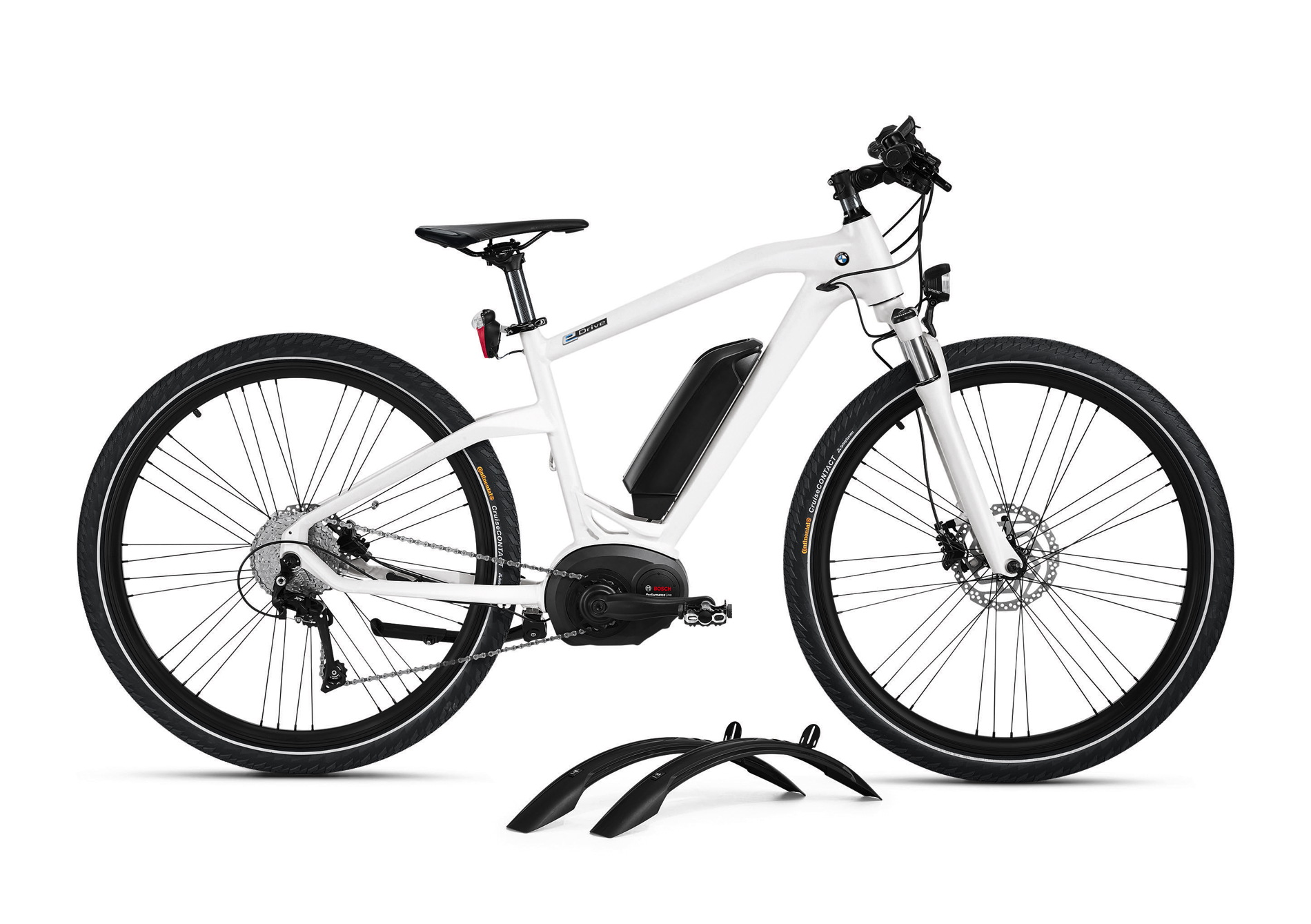 Just in time for the bicycle-season BMW is presenting its