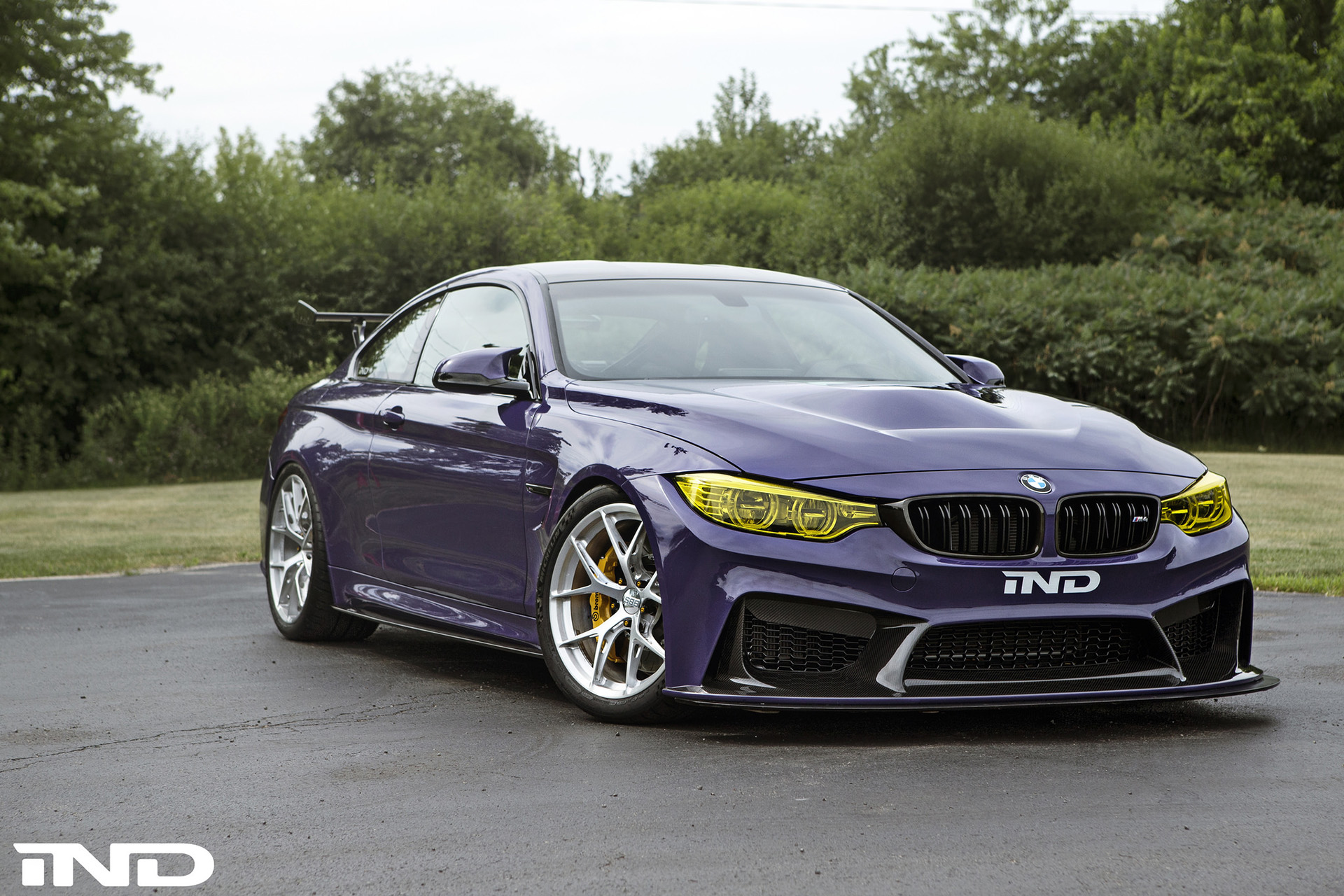 Ultraviolet Purple Bmw M4 Build By Ind Distribution