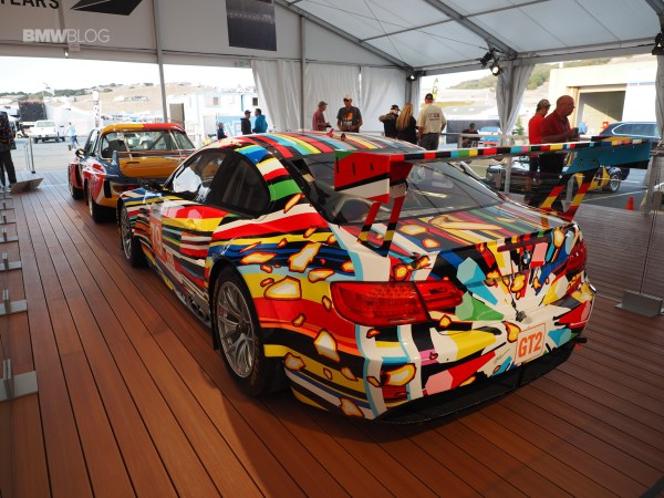 Bmw M3 Gt2 Art Car - Laguna Seca